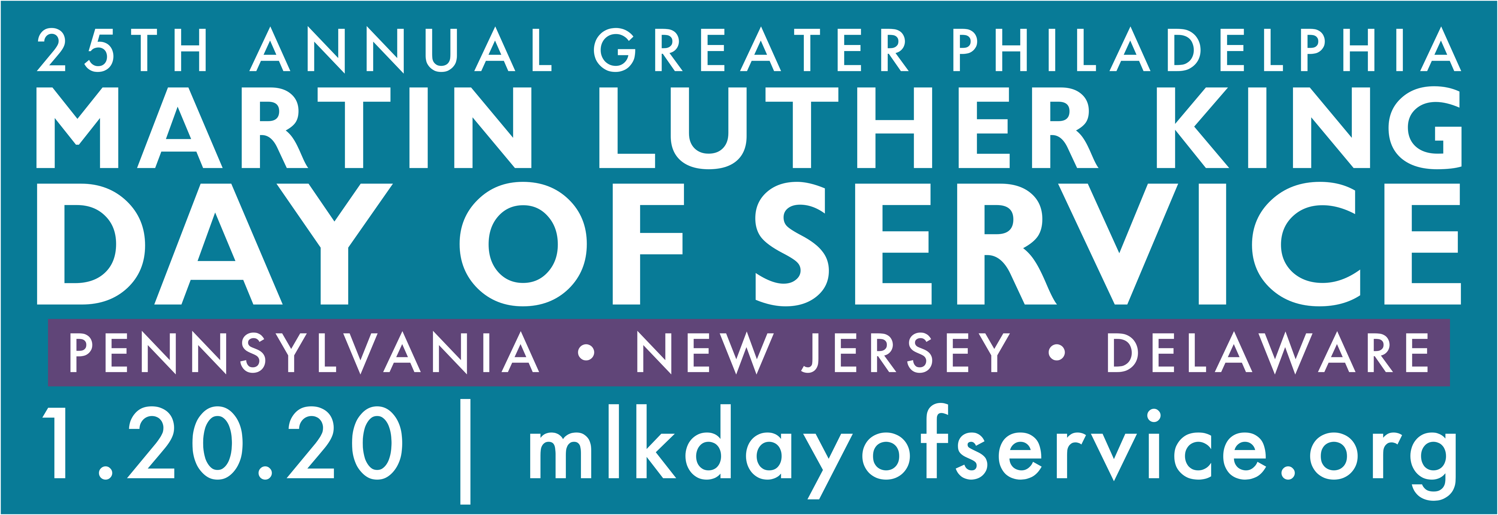 MARTIN LUTHER KING, JR. DAY OF SERVICE - 2020
